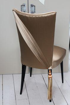Swathe Bronze Stiletto with Spina Tassel
