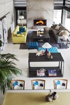 Cand iti amenajezi linvingul nu uita, culorile joaca un rol foarte important! Living Room Decor, Modern, Fabrics, Chairs, Design, Home Decor, Drawing Room Decoration, Tejidos, Trendy Tree