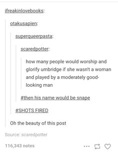 I kinda agree because umbridge gets pleasure from hurting people and snake is simply selfish. Idk