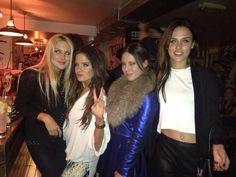 The girlies with Stephanie Pratt