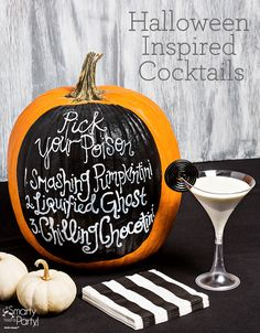 Halloween Inspired Cocktail recipes | SmartyHadAParty.com