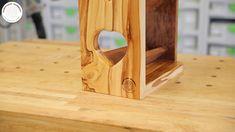 Kolejny ciekawy projekt wykonany z drewna jabłoni.