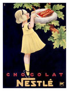 Nestle Chocolate Ad