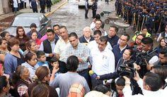 ATIENDE SILVANO AUREOLES CONTINGENCIA EN CHAVINDA