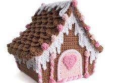 Crochet Candy Cottage Gingerbread House Tutorial Part 1
