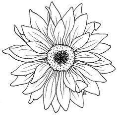 Beccy's Place: Sunflower / Gerbera
