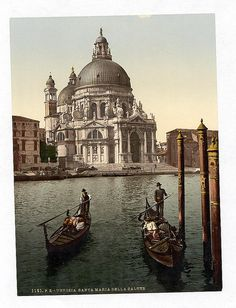 [Church of Salute, Venice, Italy] (LOC) by The Library of Congress, via Flickr