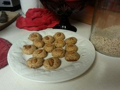 2cups almond meal 3/4 c almond butter 2eggs 1/3cyp xylitol 4 mini scoops stevia 2TBS yacon syrup 1/2tsp vanilla 1 tsp bitter almond extract Pinch salt Mix well, form into balls, place every 2 inches on cookie stone bake at 350* for 10mins or until firm. Makes about 3dozen gluten/grain free /paleo cookies