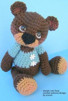 (4) Name: 'Crocheting : Bear, Simply Cute Crochet Pattern