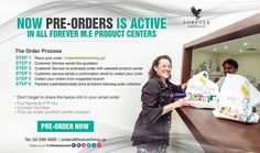 Now PRE-ORDERS is active in all Forever M.E Product centers! Order Now!