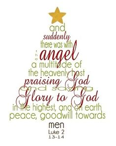 Simply Klassic Home: Christmas Scripture Word Tree Printable   Would Be A  Lovely Idea For A Simple Christmas Card Or Canvas Decoration Piece