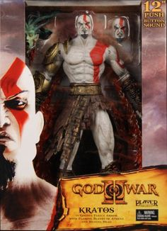 God Of War Kratos 12 Action Figure with Sound