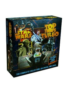 Top Trumps - Star Wars Turbo Use the Force with Top Trumps Tournament: Star Wars Edition! This complete collection is a must for any fan of Darth Vader, Obi-Wan, Yoda and every other Jedi, Sith, creature and starship from the Star Wars universe. http://shop.winningmoves.co.uk/products/5036905021371-top-trumps-star-wars-turbo.html