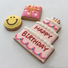 HappyBirthday Suger Cookies