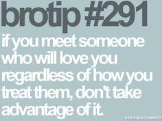 brotip 291. Guys need to follow this brotip WAY more often.