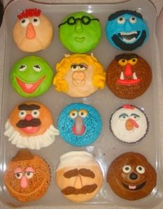 Muppet Cupcakes - All Things Cupcake