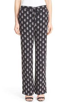 JOIE 'Sudina' Silk Pants. #joie #cloth #