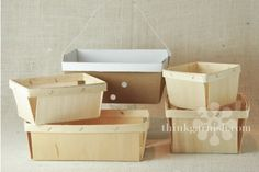 Berry Boxes from Garnish Online Shop. From 0.60 cents to $ 1.75 each.