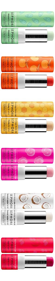 Sephora Lip Balm & Scrub for Spring 2017