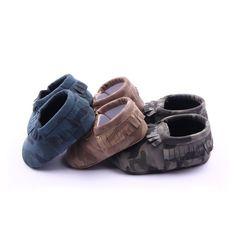 Nouveau-né Infant Toddler bébé garçons filles chaussures mocassin gros nœud PREMIER WALKER