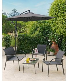 Buy Milan 4 Seater Sofa Set at Argos.co.uk - Your Online Shop for Garden table and chair sets.