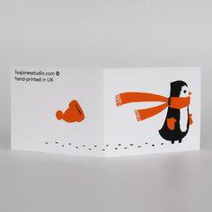 christmas card by lisa jones