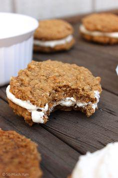 Vegan Oatmeal Cream Pies   So Much Yum