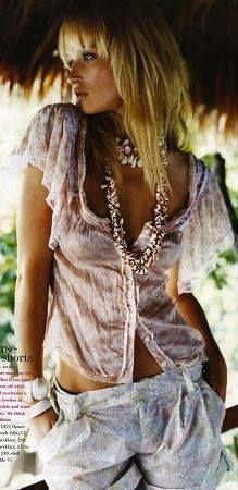 ⭐ beachy look Love cool boho websites