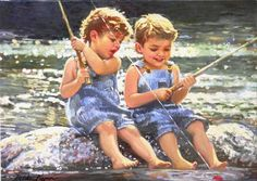 Gone fishing... I remember going fishing with my dad alot when I was a child ...great memories with him !