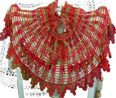 Agate and Amber Cape by bazaarbayar on Etsy