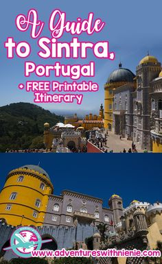Sintra, Portugal | Pena Palace | Moors Castle | Sintra Palace | A Day Guide to Sintra