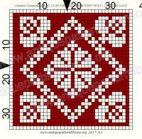 """ru / gabbach - Альбом """"Le Filet Ancien V"""" Cross Stitch Kits, Counted Cross Stitch Patterns, Cross Stitch Designs, Cross Stitch Embroidery, Crochet Cross, Crochet Chart, Filet Crochet, Knitting Charts, Knitting Patterns"""