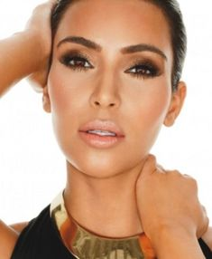 Kim Kardashian Makeup Look # 3 come stop by Top Level Salon for this look! #TopLevelSalon
