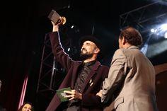 Por tercera vez en su carrera, Abel Pintos se quedó con el Gardel de Oro