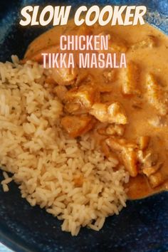 #Chicken #SlowCooker #SlowCookerChicken #TikkaMasala #ChickenCurry #ChickenTikkaMasala #ChickenRecipes #SlowCookerChickenRecipes #ChickenDinner #ChickenDishes #FrugalFood #SlowCookedChicken #WhatsForDinner #MealtimeInspiration #WhatsOnMyPlate Slow Cooked Chicken, Grilled Chicken Recipes, Healthy Chicken Recipes, Healthy Crockpot Recipes, Slow Cooker Recipes, Delicious Recipes, Slow Cooker Breakfast, Chicken Tikka Masala, Budget Recipes