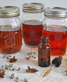 Homemade hawthorn berry tincture - how much to take and it's benefits #vitaminC #vitamins #vitaminA