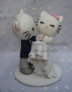 adorno torta de cerámica o porcelana fria