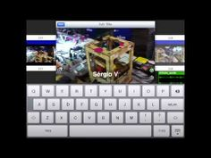 ▶ Gravar, editar e publicar 100% wireless com 1St Video for iPad - YouTube