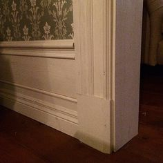 #tredelad - photos Instagram Moldings, Wainscoting, Hope Chest, Storage Chest, Doors, Photo And Video, Photos, Inspiration, Furniture