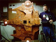 Tombs of Kobol - Buck Rogers, the Draconian Ships