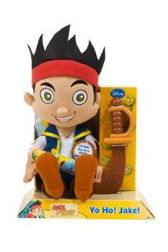 Jake and the Neverland Pirates Deluxe Classic Plush Jake