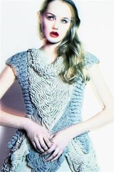 ruched knit fashion