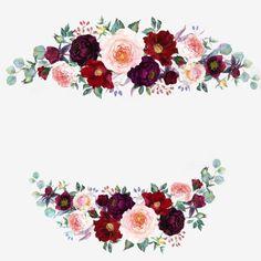 Flower Bouquet Png, Floral Bouquets, Flower Petals, Wedding Bouquets, Watercolor Flower Background, Flower Background Wallpaper, Flower Backgrounds, Flower Graphic Design, Wedding Invitation Background