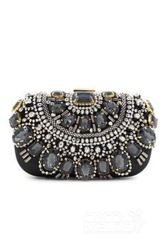 NEU Kleine Handtasche Clutch Abendtasche Tasche Länge 16,5cm Höhe10cm mit Strass | eBay