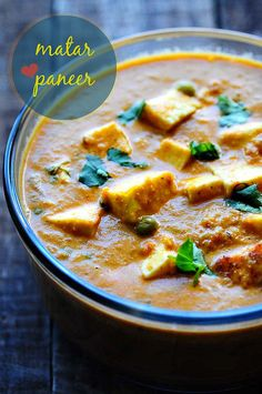 Matar Paneer Recipe - Mattar Paneer - How to Make Mutter Paneer Masala