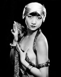 sparklejamesysparkle: Anna May Wong, publicity still for The Thief of Bagdad, 1924.
