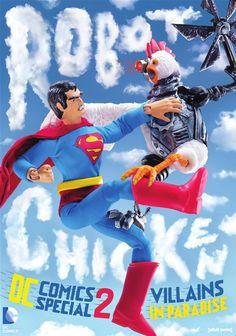 Robot Chicken DC Comics Special 2: Villains In Paradise (DVD)   DVD Empire