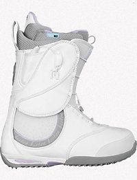 White Burton boots