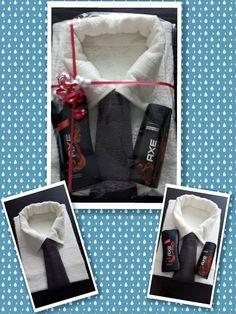 echtgenoot #cadeaus #Echtgenoot Gift Box For Men, Diy Gifts For Men, Diy For Men, Presents For Men, Gifts For Him, Fathers Day Gift Basket, Fathers Day Gifts, Box Regalo, Trousseau Packing