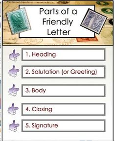 Letter Writing  Friendly Letter Business Letter To Editor Pdf